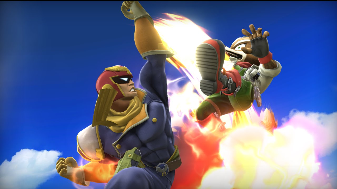 Every Fox vs Captain Falcon Match-up (Super Smash Bros ...