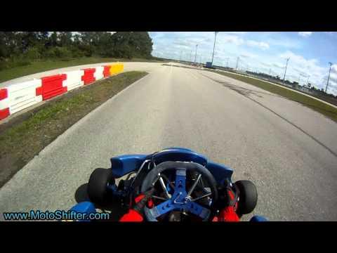 125cc Shifter Kart, High Speed Engine Seizure, at PBIR