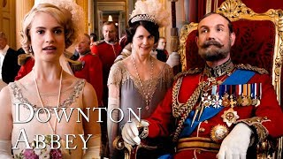 Rose's Coming-Out Ceremony at Buckingham Palace   Downton Abbey