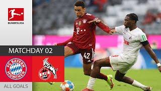 5 Goals Strong Fight FC Bayern München 1 FC Köln 3 2 All Goals MD 2 Bundesliga 2021 22