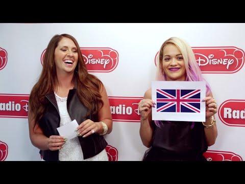 Rita Ora US vs. UK   Radio Disney