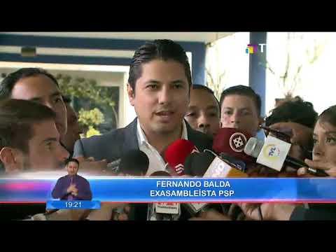 J, Serrano fue a la Fiscalía del Estado para dar su versión del presunto secuestro de Fernando Balda