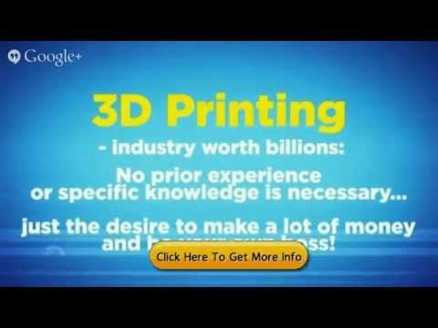 What is 3d Printing and how to Start a 3d printing Business Fast