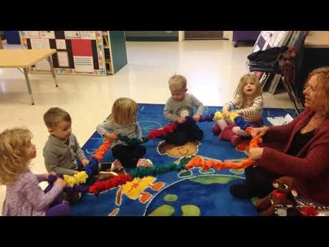 Jingle Bells with Stretchy Band - 2 and 3 year olds