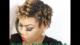Download Pipe Cleaner Curls on Short Dreadlocks Mp3 and Videos