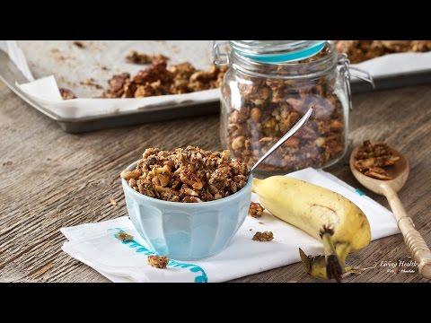 Banana Granola (Oat Free Granola!) (Vegan, Paleo, Gluten-free)