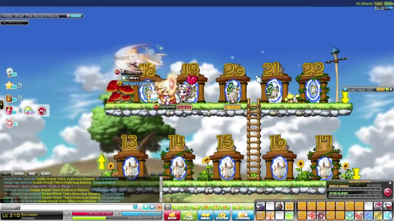 maplestory miracle scroll how to get
