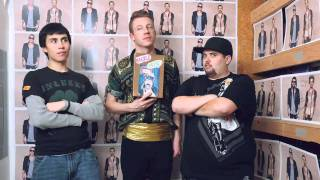 Macklemore and Ryan Lewis Pizza Party!