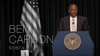 Perspectives on Leadership Forum with Dr. Ben Carson - 9/28/14