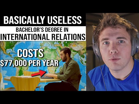 Why International Relations Degrees are USELESS...for the most part - COLLEGE CRINGE | #grindreel