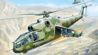 Стендовый моделизм.Сборка модели вертолёта ми-24а. Звезда, 1/72. часть1(Сборка вертолёта ми-24а в масштабе 1/72. Покраска и сборка кабины., 2015-04-26T12:53:42.000Z)