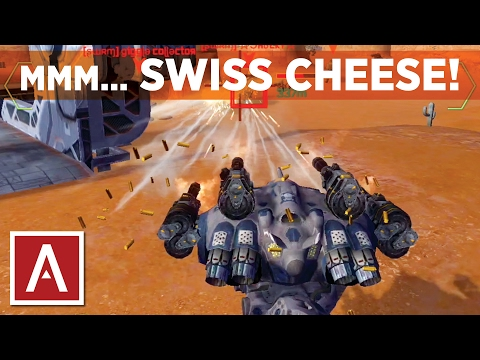 War Robots [WR] - Swiss Cheese (using Griffin Molots and Punishers)