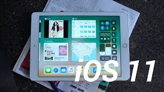 iOS 11: New iPad Features!