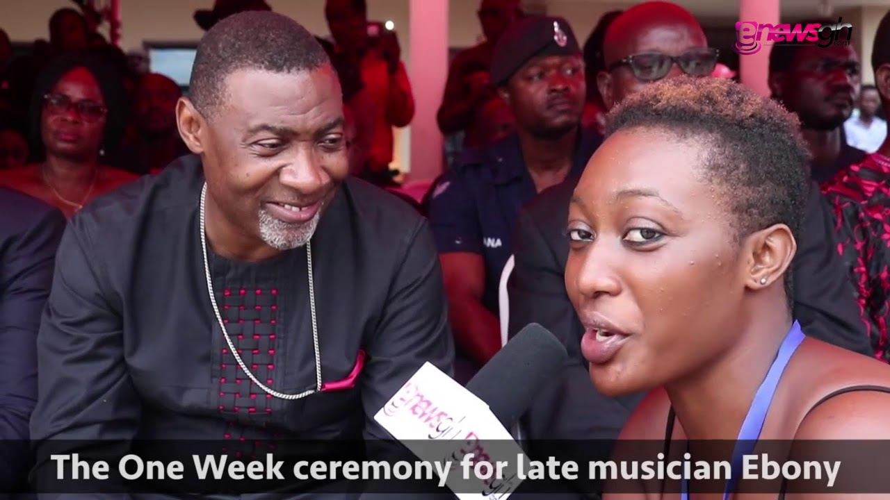 The One Week Ceremony for late musician Ebony