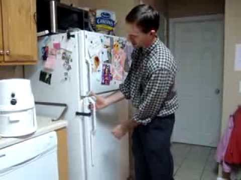 Magnetic Refrigerator Child Lock Youtube