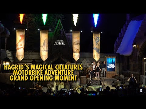 Hagrid's Magical Creatures Motorbike Adventure Grand Opening Highlights | Universal Orlando