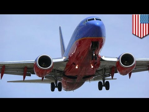 Southwest flight diverted after woman attempts to open door