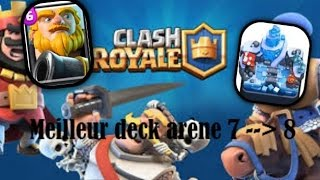 Clash royale meilleur deck arene 7 sans legendaire antidiary for Clash royale meilleur deck arene 7