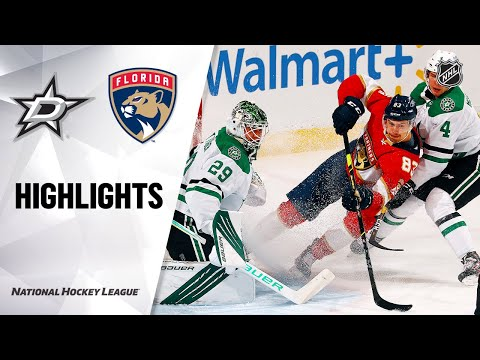 Stars @ Panthers 2/25/21 | NHL Highlights
