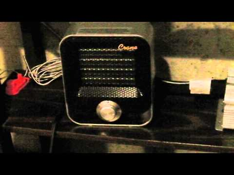 Small Electric Space Heater Good For Solar (pt1)