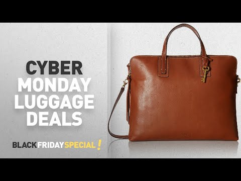 Cyber Monday Fossil Luggage Deals: Fossil Emma Laptop Bag