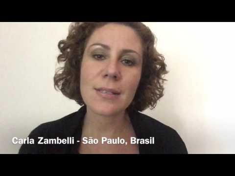 Carla Zambelli desce o cacete em Nicolas Maduro