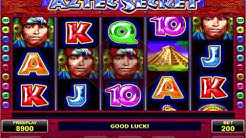 Aztec Secret Video Slot - Amatic and Amanet games with Review
