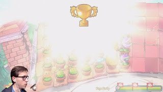 Сложный Боулинг, Pogo Party - Прохождение Plants vs Zombies на iPad, 17 часть