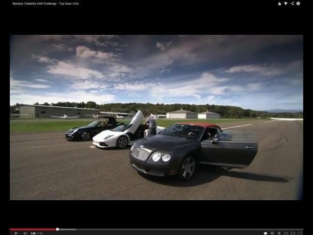 Supercars Vs Golf Balls | Top Gear USA