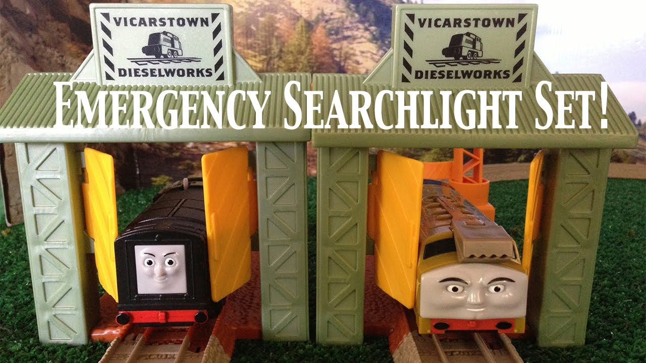 Thomas and Friends Trackmaster Village Dieselworks Emergency ...