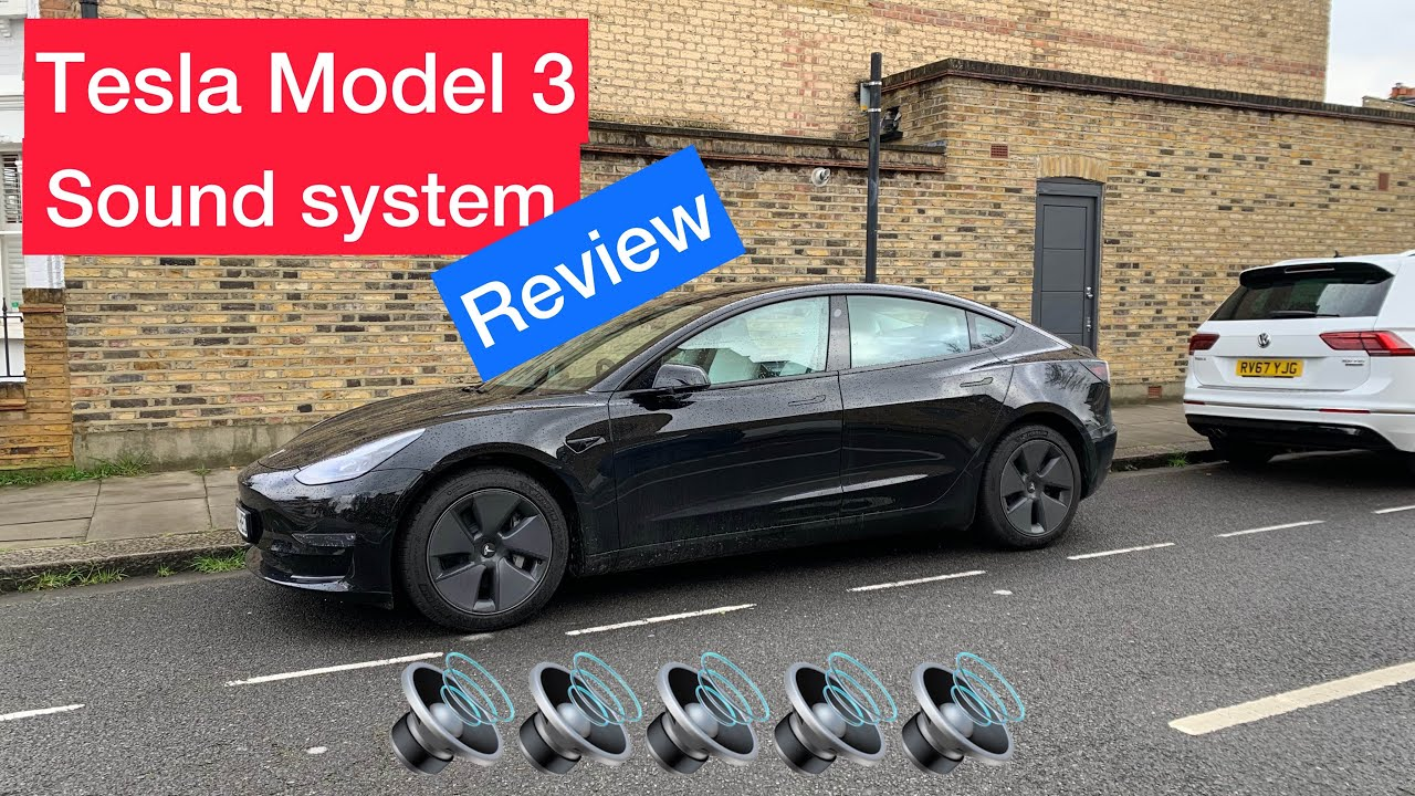 Tesla Model 3 Best Audio System In An Electric Car How To Improve It In 2021 My Full Uk Review Youtube