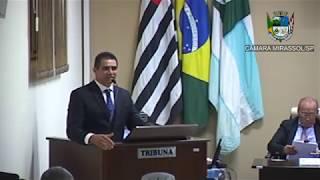 15ª Sessão Ordinária - Vereador Sérgio Leiteiro