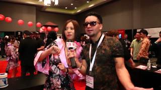 Japanese Star Ruri Saijo 1st time in America AVN 2016 瑠璃才女