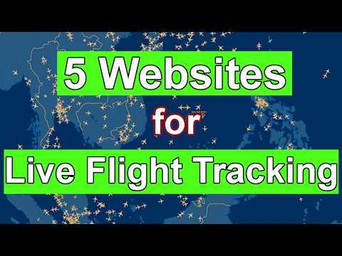 5 Best Websites For Live Flight Tracking