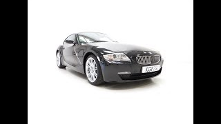 An Outstanding BMW E86 Z4 3.0Si Sport Coupe with Just 23,759 Miles - £14,995