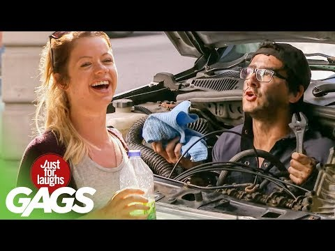 The Most Equipped Car in The World - Just For Laughs Gags
