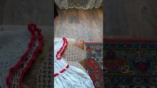 Платье крючком с ананасами для девочки