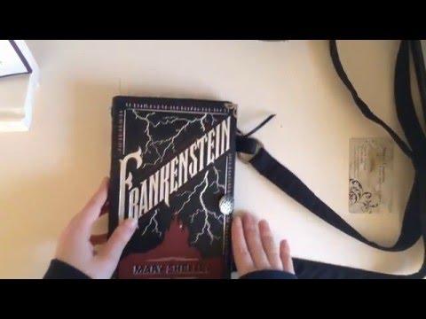 Novel Creations Frankenstein Book Purse Review