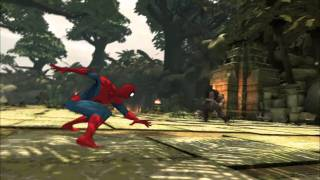 Spider Man - Shattered Dimensions HD Gameplay - GTS 250