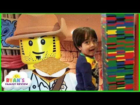 Thumbnail: Legoland Hotel Family Fun Activities for Kids! Character Breakfast + Campfire smores + Lego building