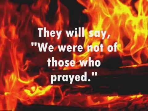 Do not neglect your prayer!