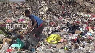Yemen: 'We wear, eat, drink garbage' - Families search for food in rubbish dump to survive