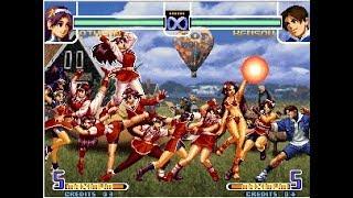 [TAS] KOF 2002 Remix Arcade - Random Team