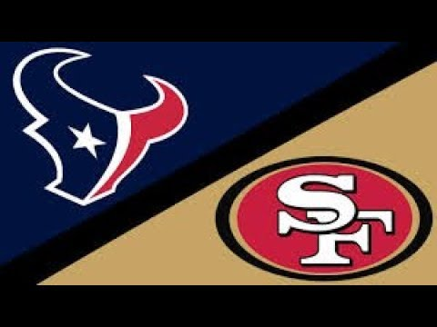 49ers win! WK14 vs Texans and now we have a win streak.