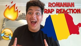 FIRST REACTION TO ROMANIAN RAPHIP HOP!! MY FAVOURITE