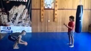 Специальные упражнение в Киокушин 1
