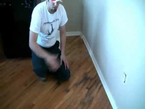 Hardwood Flooring Water Damage Repair In Kansas City Youtube
