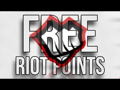 HOW TO GET RP FOR FREE! PLAYING LEAGUE OF LEGENDS!