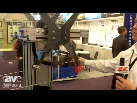 ISE 2014: DisplayFlex Exhibits Its VC Twin Display Mount for Video Conferencing