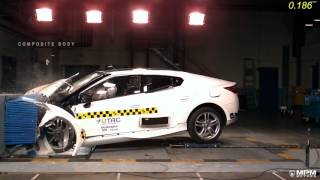 MPM Motors PS 160  Front Crash Test 2016